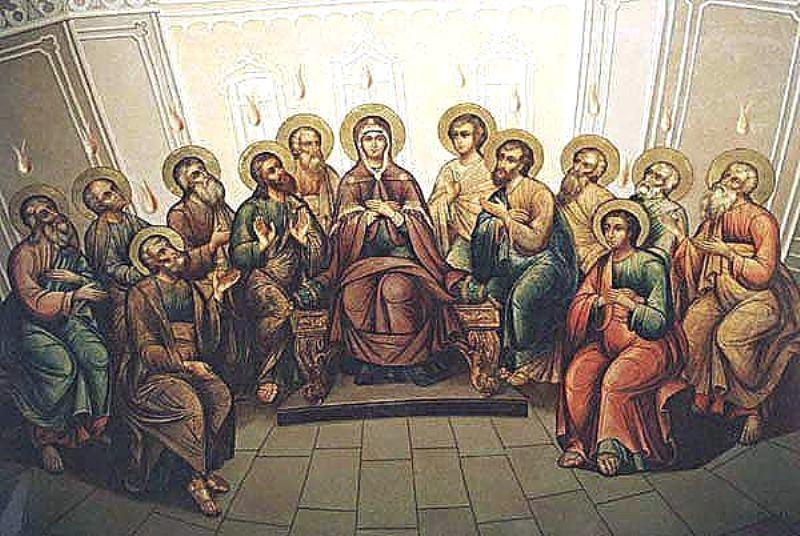 Время от Пасхи до Пятидесятницы 2