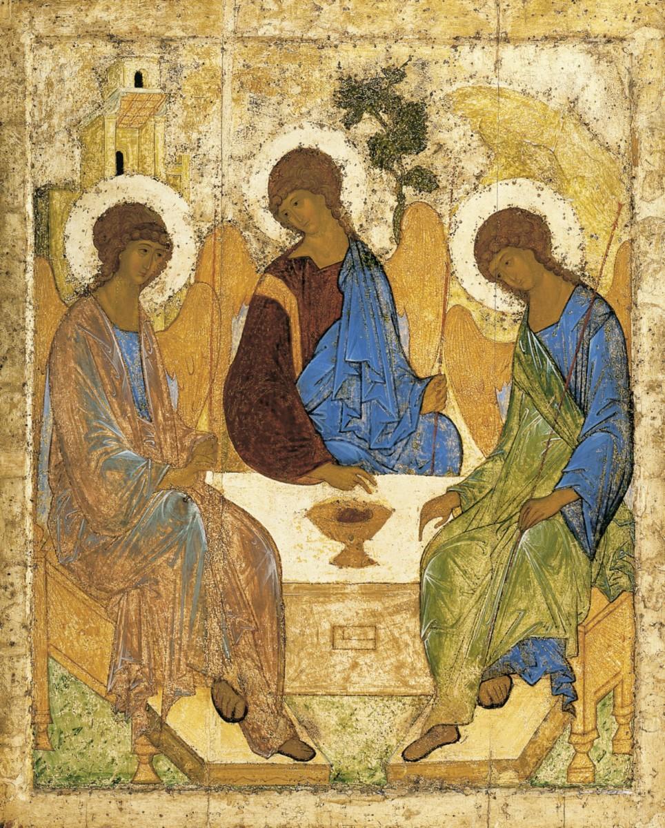 сердцевидная троица католическая картинки бис