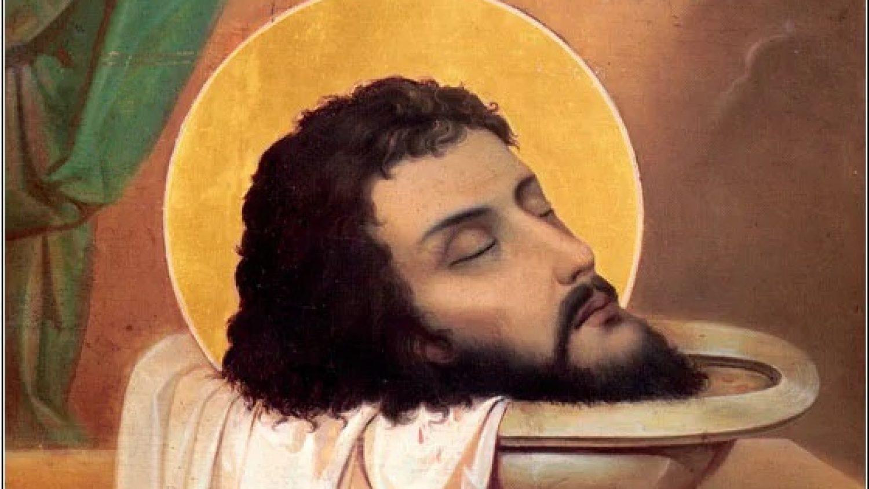 Glowa sw. Jana Chrzciciela